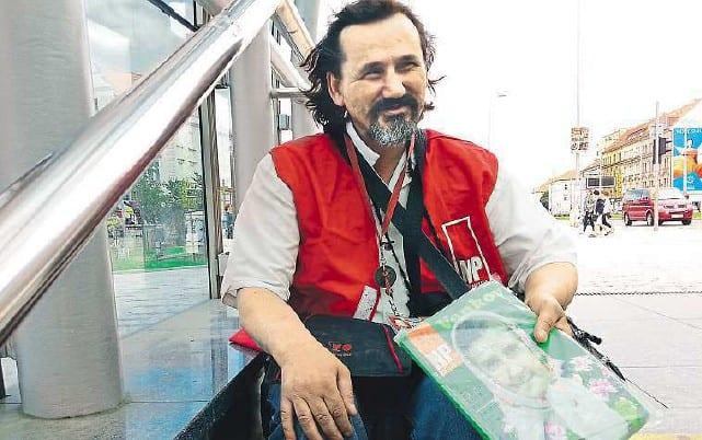 Honza: bývalý bezdomovec, který se chce stát politikem